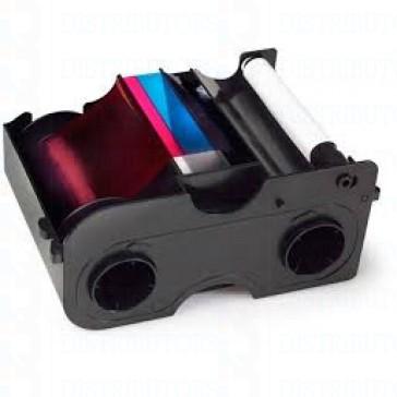 Fargo 45109 YMCKFO Full Color Ribbon -200 Images-DTC4000