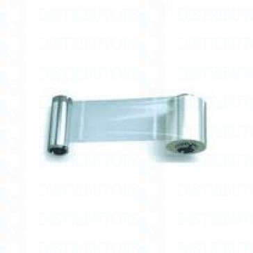 Zebra 800015-012 Clear 1.0 lamniane with coverage for magnetic Stripe Cards, for P520C, P520i printers, 100 Patches