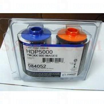Fargo 84052 YMCKK - 500 Print - DTC5000