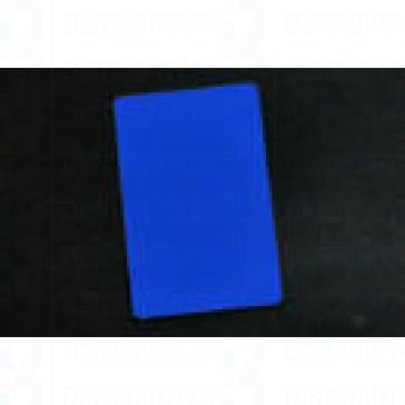 PVC BLANK CARD-CR80 30 Mil BLUE - Pack of 500
