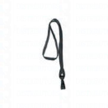 Breakaway Lanyard with Plastic Hook - Black pack of 100