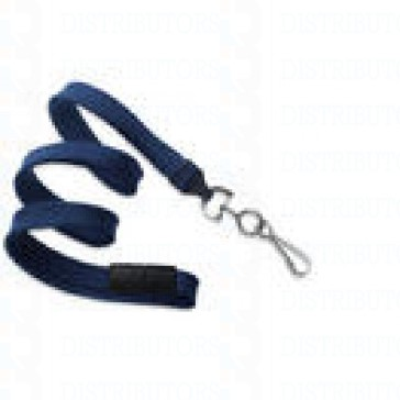 Premium Round Cord w Breakaway, Quick Release, Swivel Hook - Navy Pack of 100