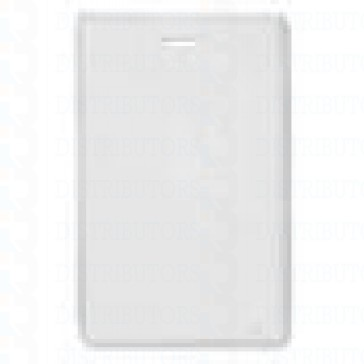 Clear Plastic Card Holder - Clear - Credit Card Size 2.125 inches by 3.375 inchesUp to 3 Cards (90 Mil) Vertical - Pack of 100