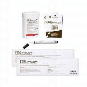 Advanced Cleaning Kit (for a complete cleaning of the printer) 2 Pre-Saturated T cards, 2 adhesive cards, 1 pen, 1 disperser of 6 pre-saturated lint-free wipes