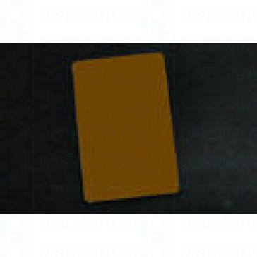 PVC BLANK CARD-CR80 30 Mil GOLD - Pack of 500