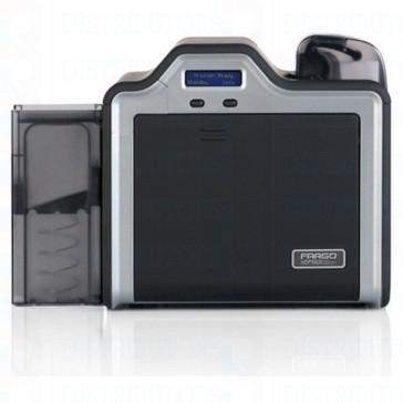 Fargo HDP5000 Single-Sided Retransfer Card Printer with Magentic Encoding