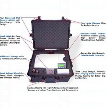 Zebra Printer Hard Suitcase - ZXP8 Laminator