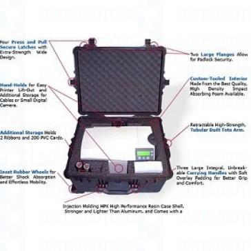 Fargo Printer Hard Suitcase - DTC1000 Single Side