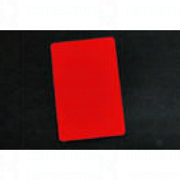 PVC BLANK CARD-CR80 30 Mil RED - Pack of 500