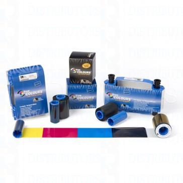 Zebra 800033-848 ix Series Color Ribbon for ZXP SEries 3 YMCKOK, Images per roll 165