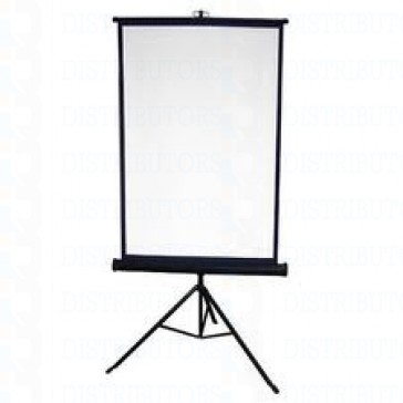 """Standard Reversable Backdrop with Stand- Cloth Backdrop, 34"""" X 28"""", White/Royal Blue"""