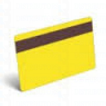 PVC BLANK CARD-CR80 30 Mil LoCo YELLOW - Pack of 500