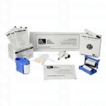 Zebra 105909-169 Cleaning Kit 50 Cleaning Cards & 24 Swabs for All Zebra Card Printers