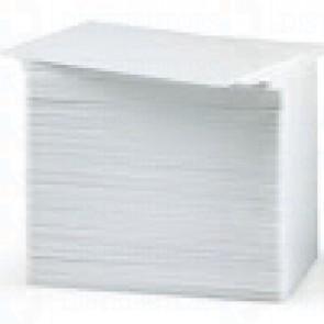 Zebra 104524-122 White Compostie Cards, 30 Mil Authentic (500 Cards)