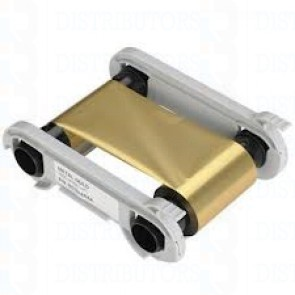 Metallic Gold Monochrome Ribbon - 1000 Prints/Roll