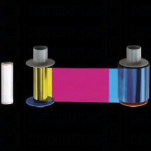 Fargo 86033 YMCKK Full-Color Ribbon - 400 Images