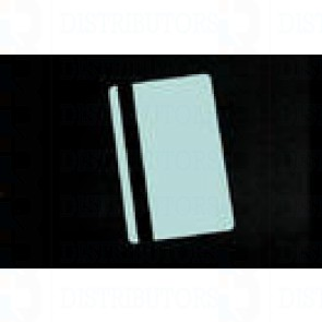 PVC BLANK CARD-CR80 30 Mil HiCo Lt BLUE - Pack of 500
