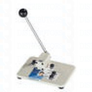 """Medium Manual Table Top Slot Punch w/adjustable guides, slot size 9/16"""" x 1/8"""" (14 x 3mm)"""