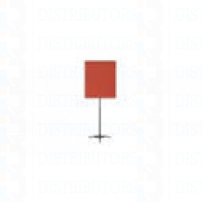"""Standard Backdrop with Stand- Cloth Backdrop, 34"""" X 28"""", Red"""