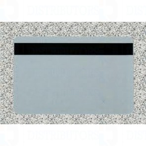 PVC BLANK CARD-CR80 30 Mil HiCo SILVER - Pack of 500