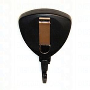 Badge Reel - Premium - Triangle- Translucent Blue-Twist Resistant- Pack of 100