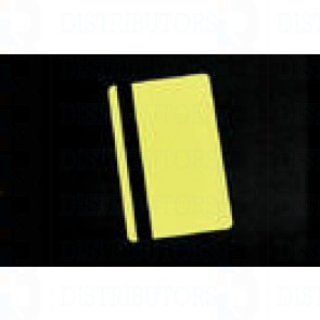 PVC BLANK CARD-CR80 30 Mil HiCo YELLOW - Pack of 500