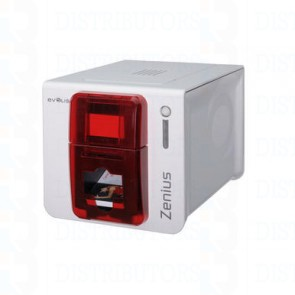 Zenius Expert Contactless, USB & Ethernet - Fire Red, Contactless with Spring Card Crazy Writer encoding module