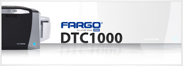 Fargo DTC1000 ID Card Printer