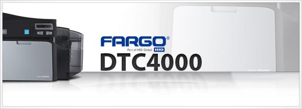 Fargo DTC4000 ID Card Printer