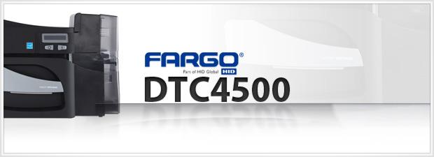 Fargo DTC4500 ID Card Printer