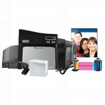 Fargo DTC4000 Single-Side Photo ID System Complete