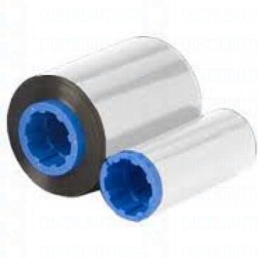 Zebra 800015-107 C Series Silver Monochrome Ribbon for P3XX, P4XX, P5XX printers 1000 images, Compatible Models:P310i, P320i, P330i, P330m, P420i, P430i, P520i