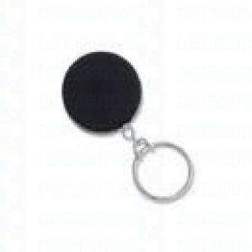 Badge Reel - Heavy Duty - Black/Chrome