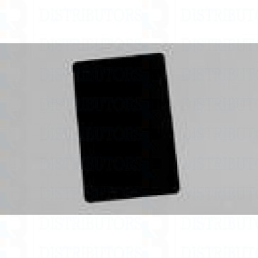 PVC BLANK CARD-CR80 30 Mil BLACK - Pack of 500