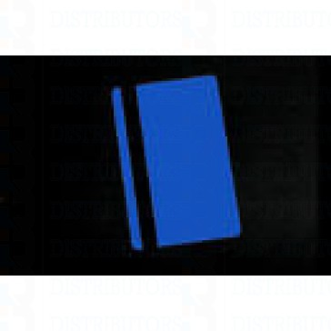 PVC BLANK CARD-CR80 30 Mil LoCo BLUE - Pack of 500