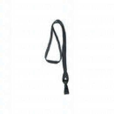 Breakaway Lanyard with Plastic Hook - Black pack of 100