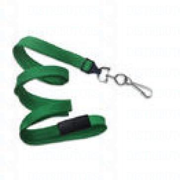 Breakaway Lanyard w Swivel Hook - Green Pack of 100