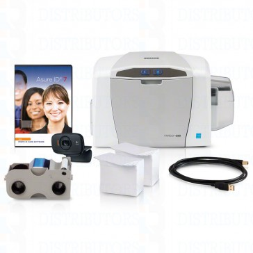 Fargo C50 Complete ID Card Printer System