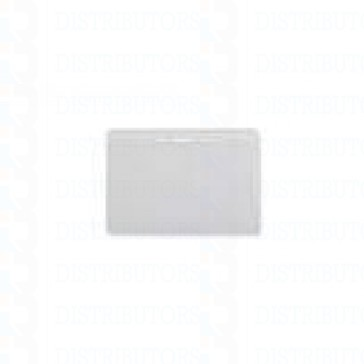 Clear Vinyl Prox Card Badge Holder Horizontal Top Load With Slot and Chain Holes - Pack of 100