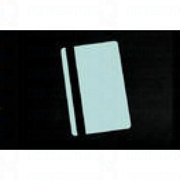 PVC BLANK CARD-CR80 30 Mil HiCo Lt BLUE - Pack of 500
