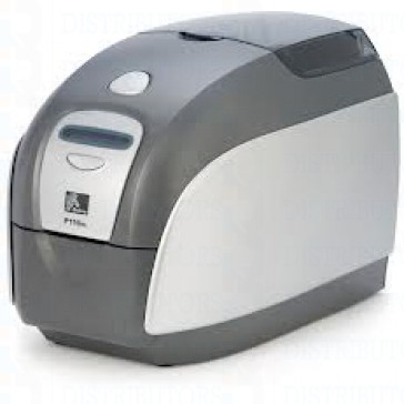 Zebra P100i Single-Sided Single Feed Card Printer with USB Connectivity and starter Kit 200 Cards and 1 Color Ribbon