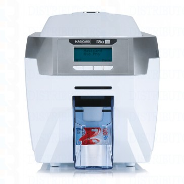 Magicard Rio Pro Single-Sided ID Card Printer with Mag Stripe Encoding Front