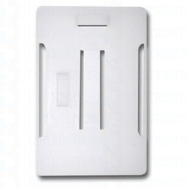 Semi-Rigid Plastic Multi-Card Holder, Vertical , Horizontal, Holds Up To 5 Cards - Pack of 100