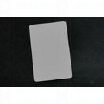 PVC BLANK CARD-CR80 30 Mil SILVER - Pack of 500