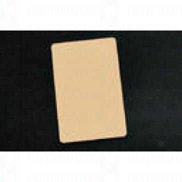 PVC BLANK CARD-CR80 30 Mil TAN - Pack of 500