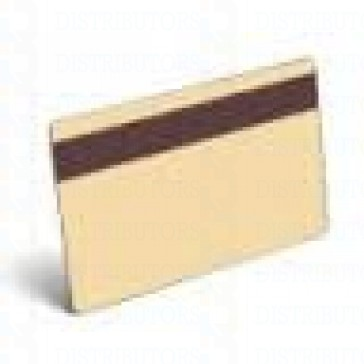 PVC BLANK CARD-CR80 30 Mil HiCo TAN - Pack of 500
