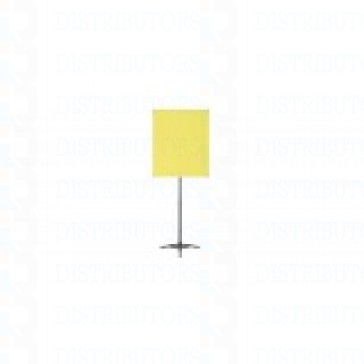 "Standard Backdrop with Stand- Cloth Backdrop, 34"" X 28"", Yellow"