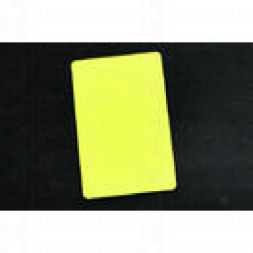 PVC BLANK CARD-CR80 30 Mil YELLOW - Pack of 500