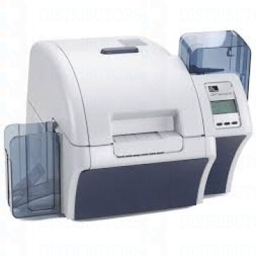 Zebra ZXP Series 8 Retransfer Single-Sided Card Printer, Magnetic Encoder, Enclosure Lock, USB andEthernet Connectivity, US Power Cord
