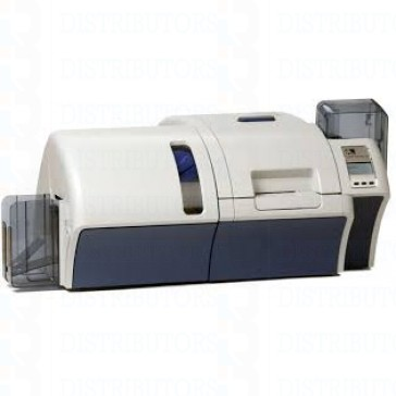 Zebra ZXP Series 8 Retransfer Dual-Sided Card Printer, Single-Sided Laminator, Contact Encoder+ Contactless MIFARE, Enclosure Lock, USB and Ethernet Connectivity, US Power Cord